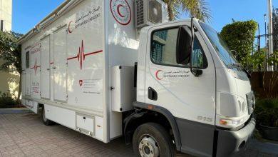 سيارات اسعاف بالتعاون مع السفارة السويسرية