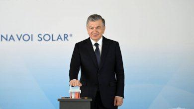 """""""مصدر"""" تدشن محطة نور نافوي للطاقة الشمسية بقدرة 100 ميجاواط في أوزبكستان"""