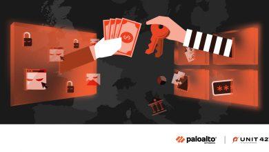 بالو ألتو نتوركس ترصد 4 عصابات صاعدة خطيرة في عالم جرائم الابتزاز والفدية