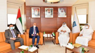 غرفة أبوظبي تبحث مع سفير الجزائر لدى الدولة آفاق التعاون الاقتصادي والاستثماري