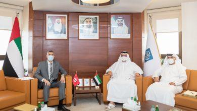 اجتماع سعادة رئيس مجلس إدارة غرفة أبوظبي مع سفير الجمهورية التونسية لدى الدولة